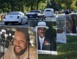 Detroit turns island park into COVID-19 memorial garden