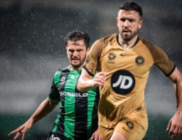 Five goals in 18 minutes on wet and wild night between Western United and Wanderers