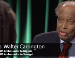 Former United States Ambassador To Nigeria, Walter Carrington, Is Dead