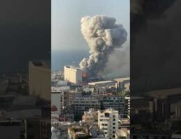 How Big Was The Beirut Blast?
