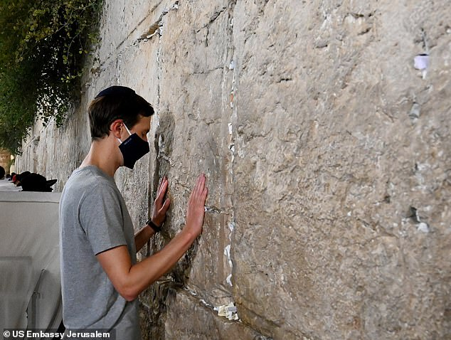President Donald Trump's son-in-law  and Senior Advisor Jared Kushner visited the Western Wall in Jerusalem