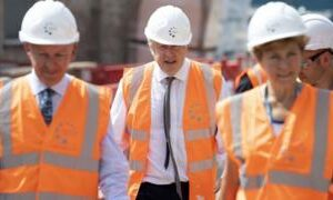 Johnson warns 'long, long way to go' for UK economy