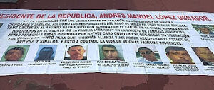 Narco Banners talk about Alliance Between Rafael Caro Quintero and La Línea