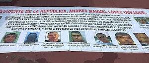 Narco Banners talk about Alliance Between Rafael Caro Quintero and La Línea