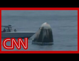NASA-SpaceX Dragon Astronauts Are Back On Earth After Florida Splashdown