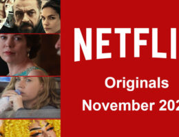 Netflix Originals Coming to Netflix in November 2020