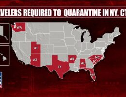 New York, New Jersey, Connecticut add Hawaii, South Dakota, Virgin Islands to quarantine list