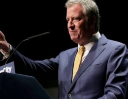 NYC's de Blasio sued by pro-cop groups for rejecting Blue Lives Matter mural