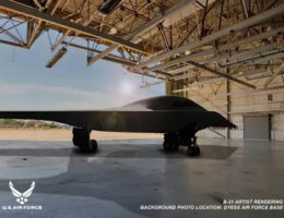 Progress Continues On The B-21 Program