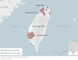 Report Says China Not Ready For A Full Assault Against Taiwan