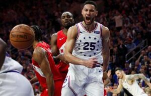 Surgery likely to rule Ben Simmons out of NBA playoffs