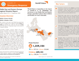 Afghanistan: COVID-19 emergency response - Middle East and Eastern Europe Regional Situation Report #13 - 17 September 2020