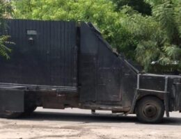 Aguililla: National Guard clashes with CJNG hitmen in Michoacán; 2 die and seized narco-monster vehicle