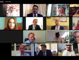 Arab and Israel media professionals meet online to discuss peace in the Middle East
