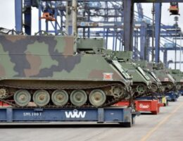 Brazilian Army receives thirty armored tanks donated by United States