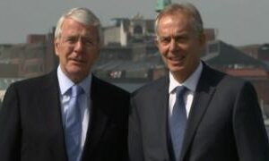Brexit: Blair and Major urge MPs to reject Internal Market Bill