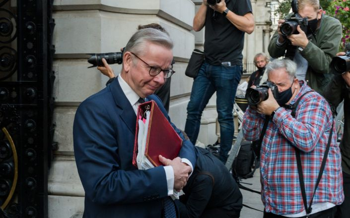 Michael Gove is in charge of no-deal planning - GETTY IMAGES