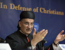 Cardinal likens fading Christian presence in Middle East to a sinking ship
