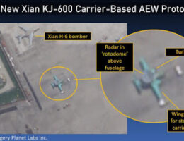 China's Aircraft Carriers Are About To Become More Powerful With Their Own Airborne Early Warning (AEW) Aircraft