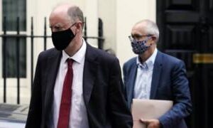 Coronavirus: Whitty and Vallance faced 'herd immunity' backlash, emails show