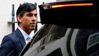 Sunak leaves 11 Downing Street