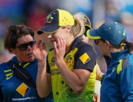 Ellyse Perry to miss ODI series after reinjuring hamstring