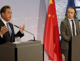 Germany Tells China To Stop Threatening Europe