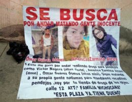 Human dismembered remains found with a message in La Paz
