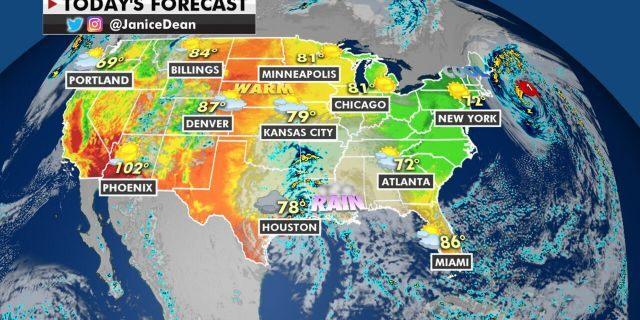 The national forecast for Sept. 22, 2020.