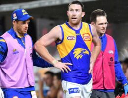 Jeremy McGovern injured in West Coast's gutsy win over St Kilda