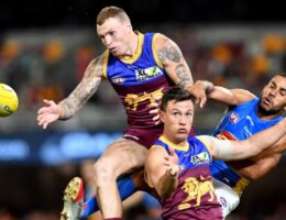 Lions tune up for AFL finals with convincing win over Suns