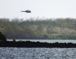 Mauritius oil spill: Three clean-up crew die after boat capsizes