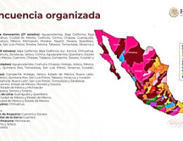 Mexican Government Releases a New 2020 Cartel Map