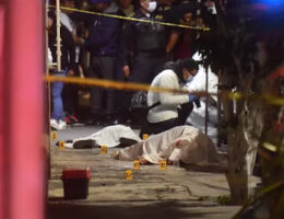 Mexico City: A 10 year old and mother gunned down