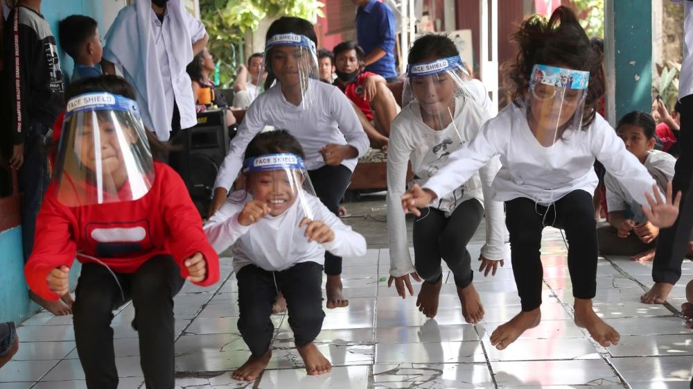 APTOPIX VIRUS OUTBREAK INDONESIA INDEPENDENCE