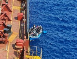 Migrants allowed off Maersk tanker after 40 days at sea