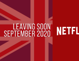 Movies & TV Series Leaving Netflix UK in September 2020