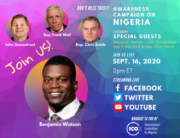 NFL Star Benjamin Watson to Speak Out Against Religious Persecution, Genocide in Nigeria