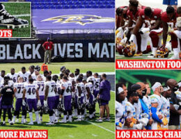 Once The Politics And 'Social Justice' Was Finished A Football Game Broke Out