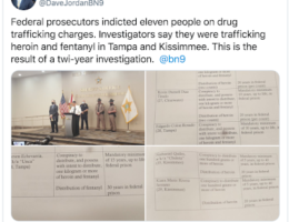 Operation Pocket Dial: Florida Drug Ring Busted after 2 Year Investigation, 11 Charged