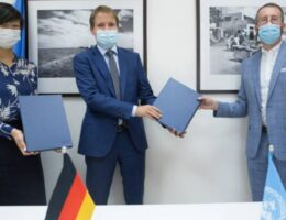 oPt: Germany invests in UNRWA education, health, cash-for-work services and infrastructure in support of Palestine refugees across the Middle East