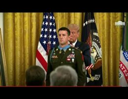 President Trump Awards The Medal Of Honor To Sgt. Maj. Thomas 'Patrick' Payne