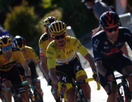 Roglic wins first uphill finish at 2020 Tour de France