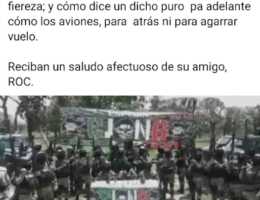 "Ruben Oseguera Cervantes aka El Menchito ""sends"" another message to the CJNG troops"