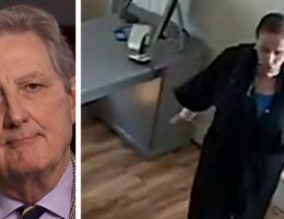 Sen. John Kennedy bashes Pelosi for 'getting her hair washed' while 'my people don't even have water'