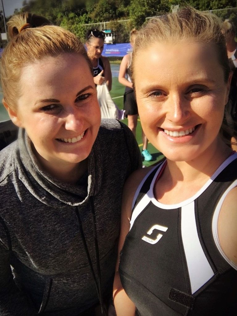 Jessica Macartney in New Zealand after a game for the East Coast Bays