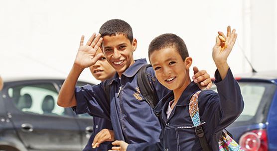 Boys returning home from school in Nabeul, Tunisia. Efficient social spending is key for strengthening education and boosting socioeconomic outcomes. (PHOTO: Lipowski/iStock by Getty Images)