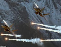Switzerland Unveils Plans To Spend Billions On New Fighter Jets