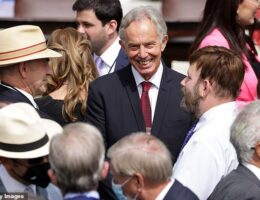 Tony Blair was behind Donald Trump's Middle East peace deal... but agreement already faces criticism