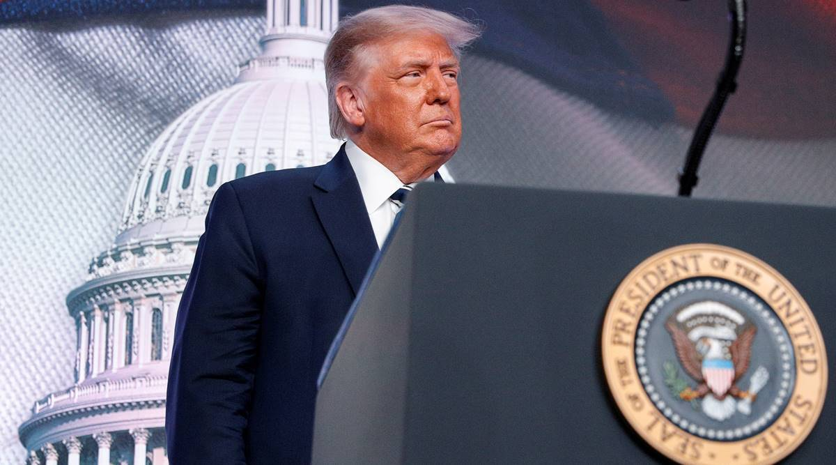 Donald trump, Trump brokers peace deal, US-ISrael relations, Middhle East and Bahrain, US peace deal in Middle East, Bahrain, world news, Indian express